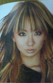 倖田來未のメイク後画像